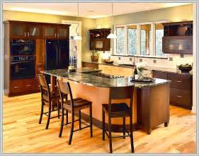 kitchen island wikihowhow make islands are awesome with bar seating stools for via