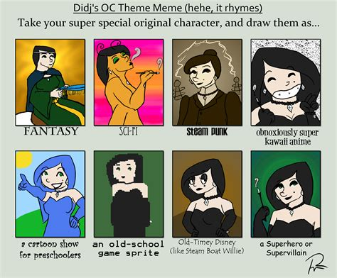 Theme Meme - didj s theme meme by teela b on deviantart