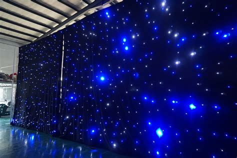 led light curtain wall led rgb star curtain star light curtain backdrop wall
