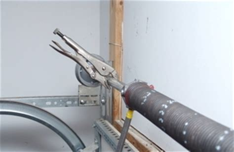 Garage Door Torsion Springs Installation How To Install A Single Torsion Assembly