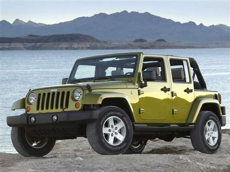 Jeep Wrangler Or Wrangler Unlimited 2007 Jeep Wrangler Unlimited Front Left 3 1280x960 Wallpaper