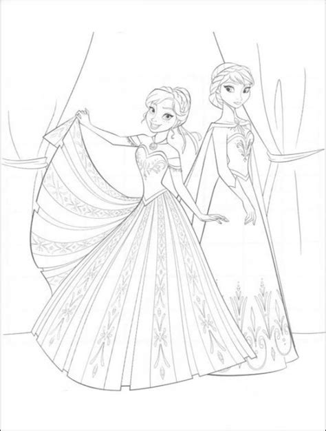 large frozen coloring page summer entertainment for kids free printables urbansitter