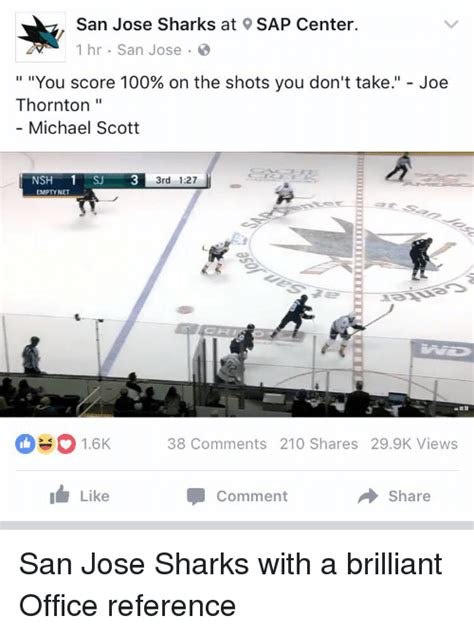 San Jose Sharks Meme - funny michael scott memes of 2016 on sizzle drugs