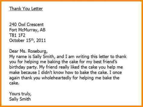thank you letter to pastors proper writing a thank you letter letter format writing