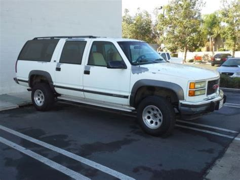 how things work cars 1994 gmc suburban 1500 electronic valve timing purchase used 1994 gmc suburban 1500 4x4 in long beach california united states
