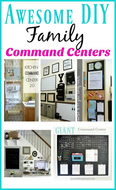 family organization awesome diy family command centers