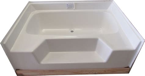 garden bathtubs 54x42 fiberglass replacement garden tub