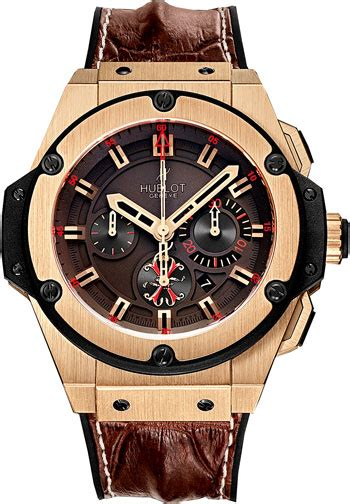 Hublot Bigbang Leather Chrono Mens Rosegold 6 hublot king power arturo fuente automatic brown 18 kt gold s 703 ox 3113 hr