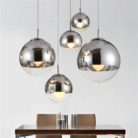 bola de cristal colgante luz comedor lampara colgante bola