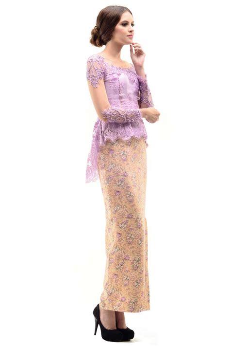 Kebaya Tile Payet Songket tips memilih model kebaya modern ragam fashion