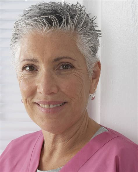 very short haircuts gray hair very short hairstyles for older women to keep you young at
