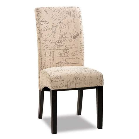 parsons chair script fabric american furniture warehouse