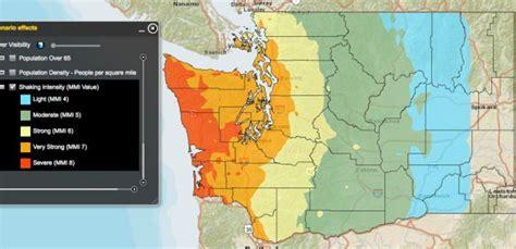 seattle earthquake zone map june 7 fema will hold a drill to prepare for a 9 0