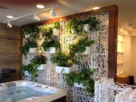 separarsi in casa wall y griglia per realizzare pareti verdi verticali