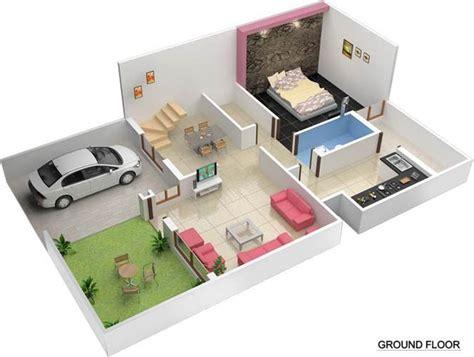 20 40 duplex house plan 20 x 40 duplex house plans