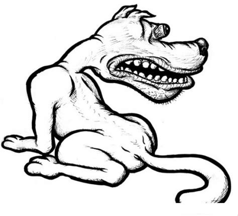 imagenes ojos desvelados perro desvelado con ojos rojos y saltados dibujo para