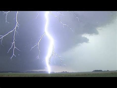 extreme close lightning in hd compilation! loud thunder