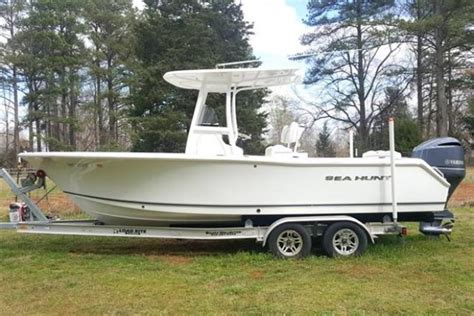 sea hunt boats for sale nc sea hunt new and used boats for sale in north carolina