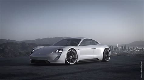porsche mission e wallpaper mackevision