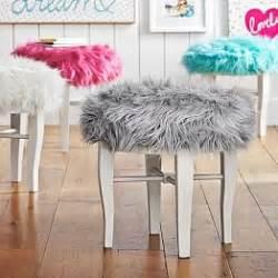 Vanity Chair Pb Vanity Stools Vanity Chairs Pbteen