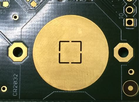 pcb coin cell battery retainer problems