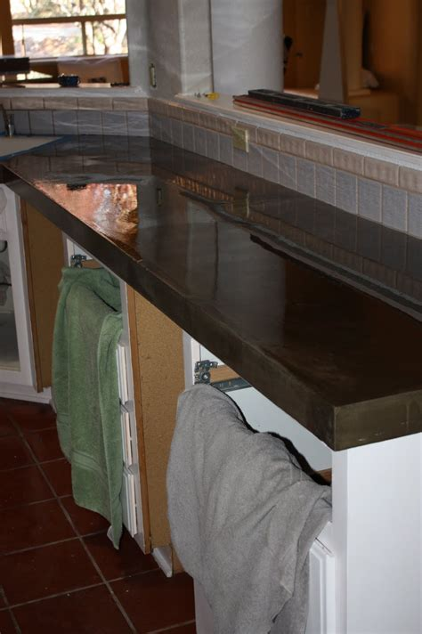 remodelaholic quick install  concrete countertops