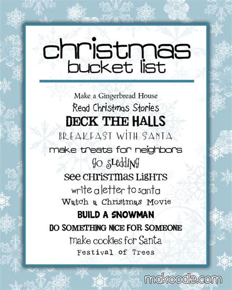 create a christmas bucket list free printable 24 7 moms