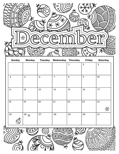 December Coloring Pages Preschool Diannedonnelly Com December Coloring Page