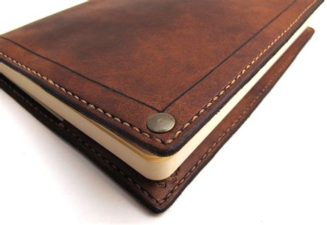 Leather Cover by Image Gallery Leather Moleskine