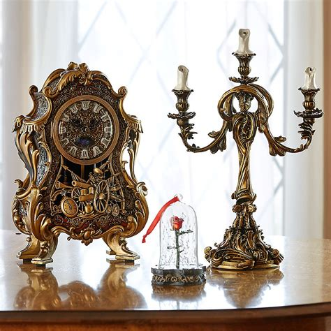 the candelabra where to buy and the beast s clock and candelabra