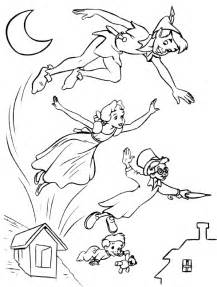 peter pan coloring pages coloring pages print