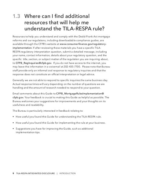 section 9 of respa tila respa guide