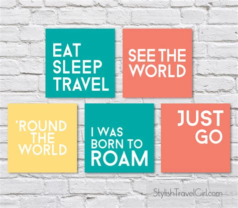 printable travel quotes free travel quote printables wanderlust edition