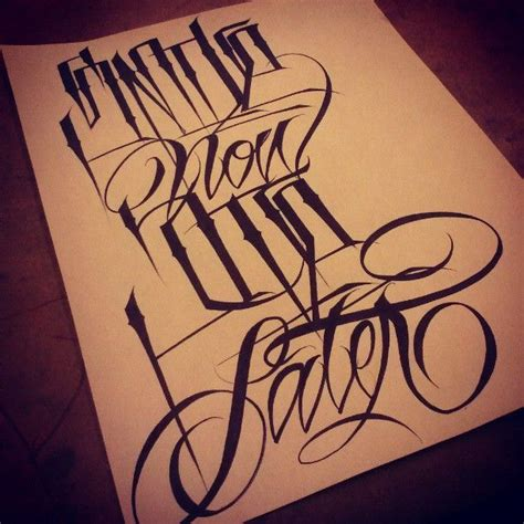 tattoo fonts gangster best 25 gangster letters ideas on chicano