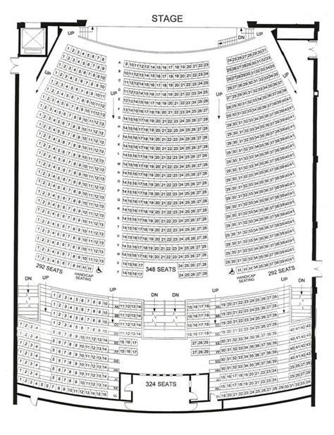 queen elizabeth theatre floor plan seating chart queen elizabeth theatre