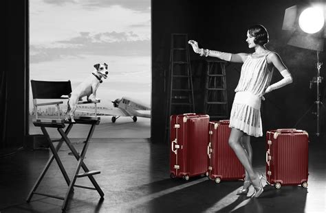 Age 20 S Blue rimowa roaring 20s ad caign starring alessandra ambrosio live and let s fly