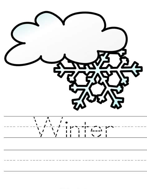 winter coloring pages for preschool coloring pages of winter for preschoolers to colour in