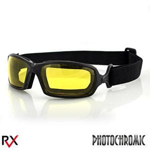 bobster action eyewear fuel biker goggles, anti fog yellow