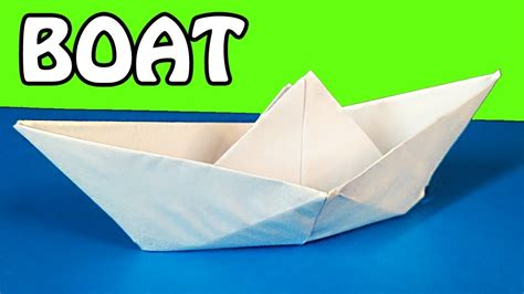 how to make a paper boat tutorial how to make a paper boat origami tutorial youtube