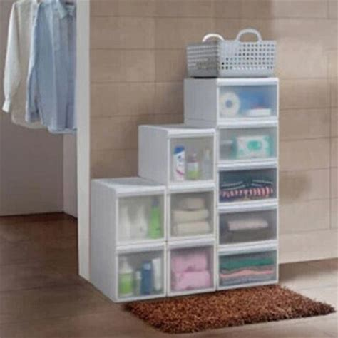 Cheap Baby Drawers by Buy One Hundred Dew Plastic Drawer Storage Cabinets Wardrobe Baby Toys For Children Finishing