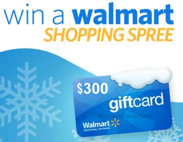 Walmart 300 Gift Card - free 300 walmart gift card to be won frugal canadians