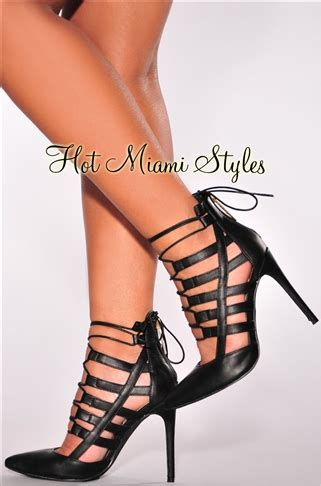 black lace up high heels black lace up high heel booties