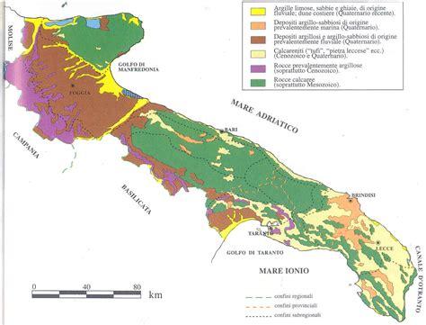 tavoliere delle puglie cartina il territorio pugliese nonsoloscuola vc