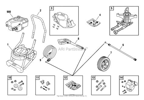troy bilt pressure washer diagram briggs and stratton power products 020605 02 3 000 psi