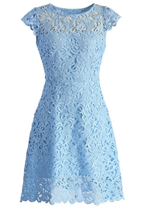 blue pattern lace dress 25 best ideas about light blue lace dress on pinterest