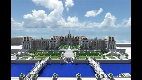 minecraft imperial summer palace  gardens youtube