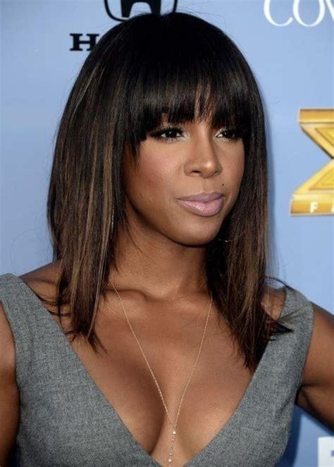 black hairstyles  bangs popular haircuts