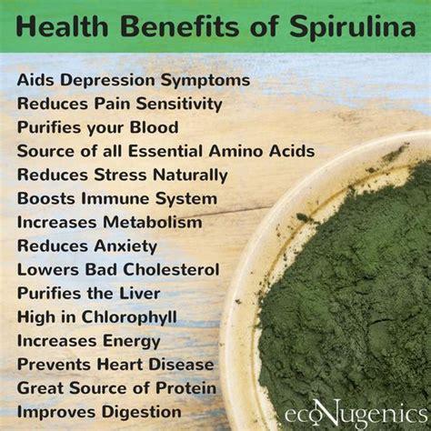 Spirulina Detox Benefits by 1000 Ideas About Spirulina On Spirulina