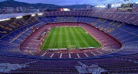 cuantas personas caben en el santiago bernabeu barcelona real madrid al madrid se le escapa la liga en