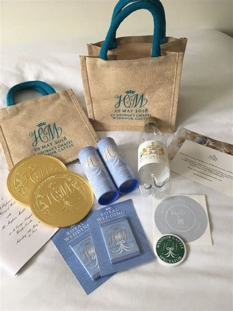 wedding gift ebay here s what s inside the royal wedding gift bags